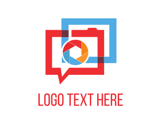 Talk Bubble - Photography Forum logo design