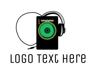 Disc Jockey - Radio DJ logo design