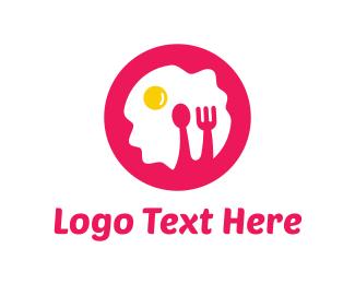 Breakfast - Pink Breakfast logo design