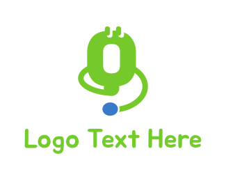 Stethoscope - Medical Instrument logo design