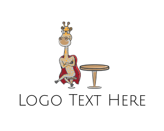 Table - Super Giraffe logo design