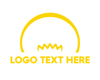 Yellow - Yellow Bulb logo design