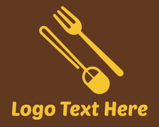Mouse - Food Shop Online logo design