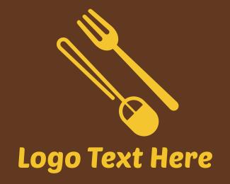 Click - Food Shop Online logo design