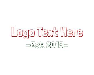 Preschooler - Childish Handwriting logo design