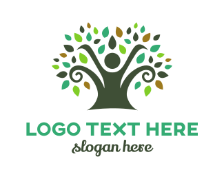 Spiral - Spiral Tree logo design