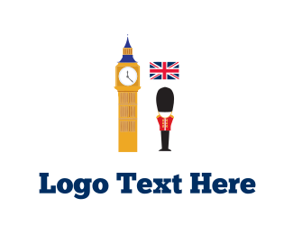 Uk - London Tour logo design