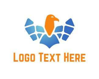 Sustainable - Solar Eagle logo design
