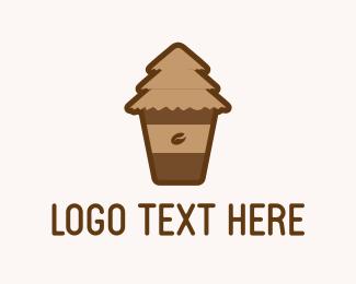 Latte - Coffee Tree logo design