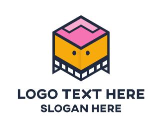 Box - Box Robot logo design