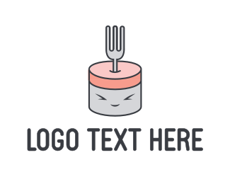 Fork - Cute Fork logo design