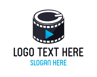 Videographer - Media Film logo design