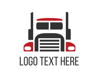 Vehicle - Big Truck logo design