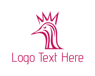 Crown - Crown Bird logo design