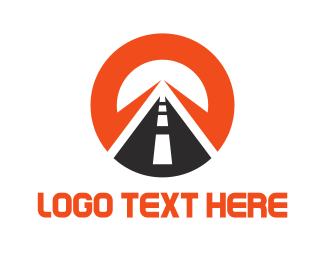 Driver - Round Road logo design
