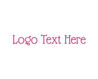 Traditional - Vintage & Pink logo design