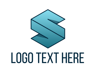 Abstract - Geometric Letter S logo design