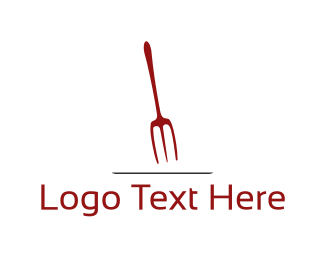 Catering - Red Fork logo design