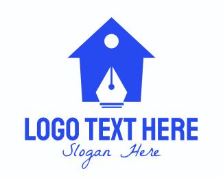 Home - Pen Home logo design