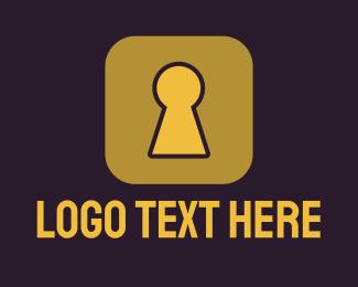 Mobile App - Secure App logo design