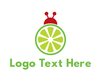 Lemonade - Citrus Bug logo design