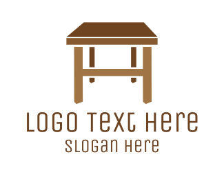Furniture - Furniture Table logo design