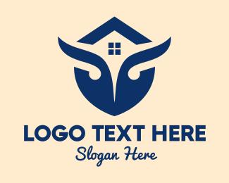 Broker - Owl House logo design