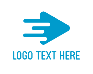 Interactive - Fast Player logo design