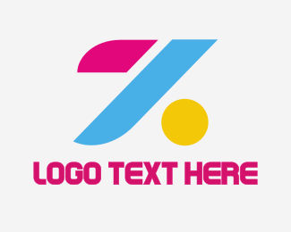 Bold - Colorful Letter Z logo design