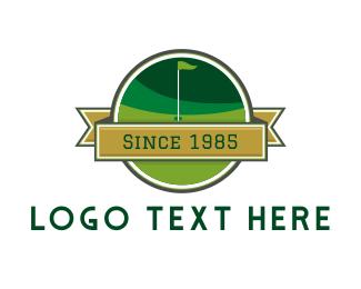 Golf Course - Golf Course logo design