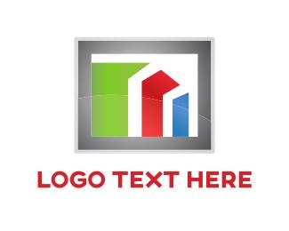 Financial -  Financial Bars logo design