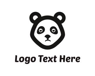 Sad - Sad Panda logo design
