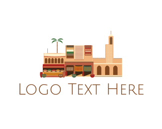 Neighborhood - Arab Neighborhood logo design
