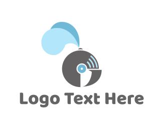 Disc - Knight Helmet logo design
