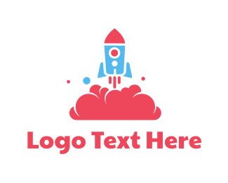 Learning - Rocket Toy logo design