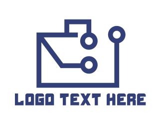Business - Business Tech Purse logo design