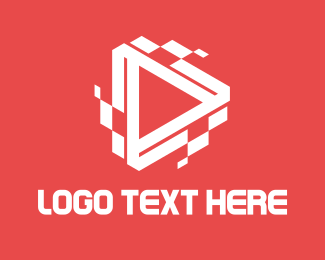 Vlog - Digital Play logo design