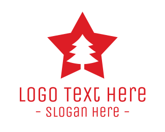 Star - Tree Star logo design