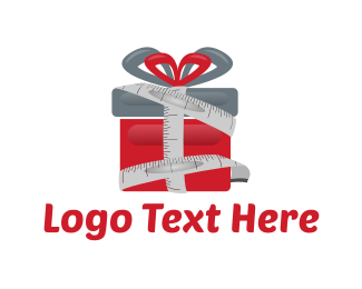 Measure - Tailor Gift logo design