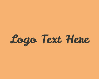 Wordmark - Stylish Font logo design