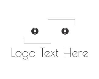 Tape - Black Cassette logo design