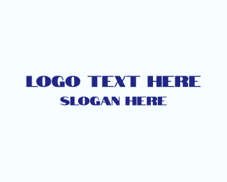 Typeface - Light  & Bold logo design