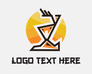 Summit - Abstract Deer logo design