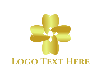 Teeth - Gold Teeth logo design