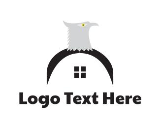 Real Estate - Eagle House logo design