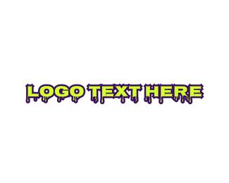 Dripping - Liquid & Slimy logo design