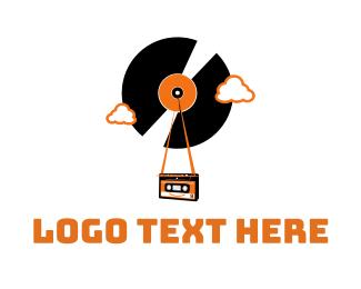 Tape - Vintage Vinyl Tape logo design