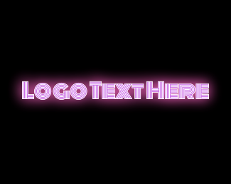 Sex - Pink Neon logo design