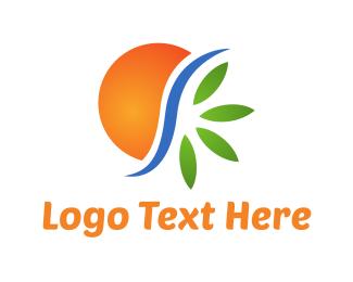 Spa - Natural Environment logo design