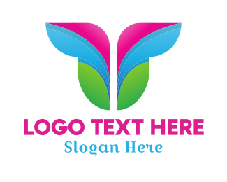 Butterfly - Butterfly Wings logo design